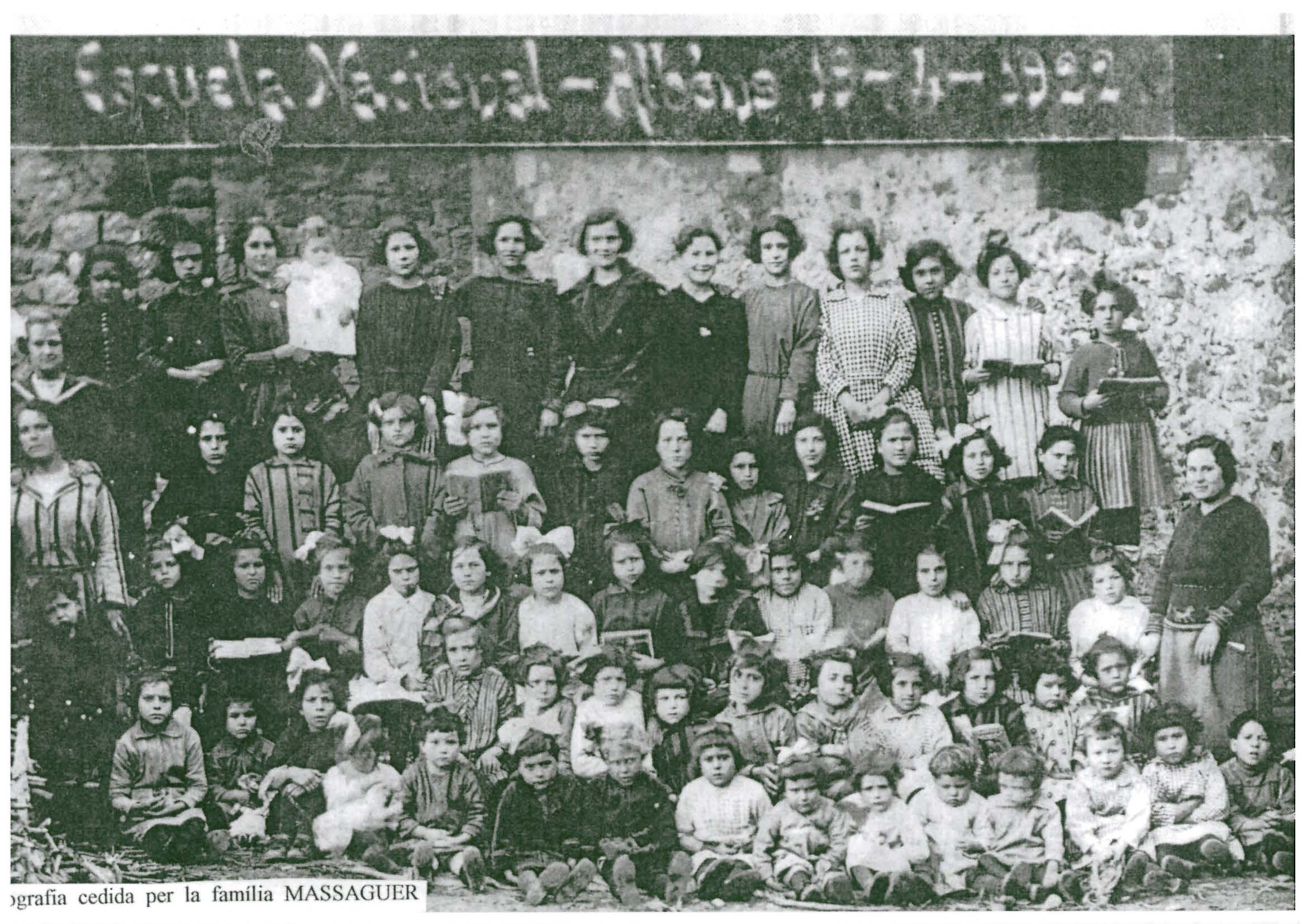 escuela nacional 1922